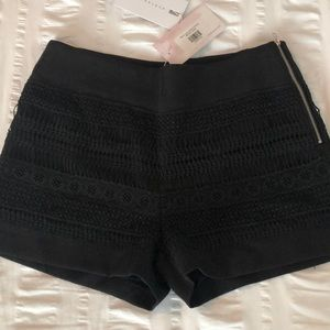 Endless Rose Black Lace Shorts NWT Sz S